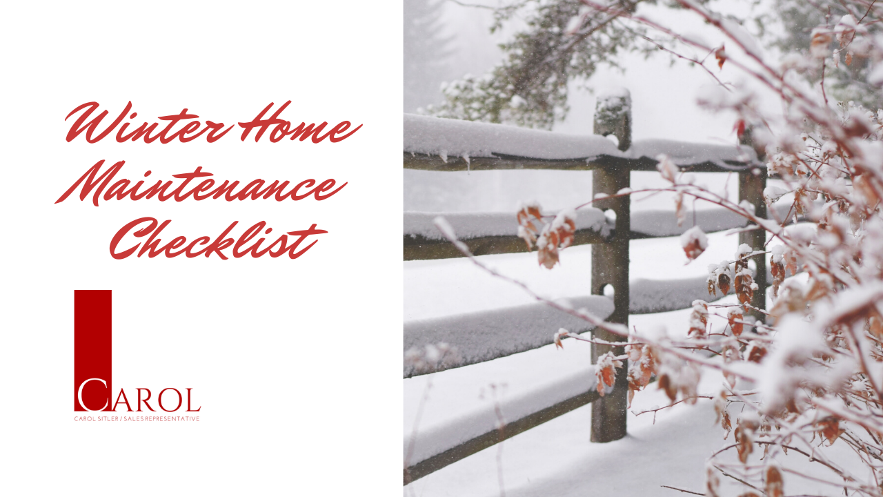Prepare Your Home For Winter with this Checklist!